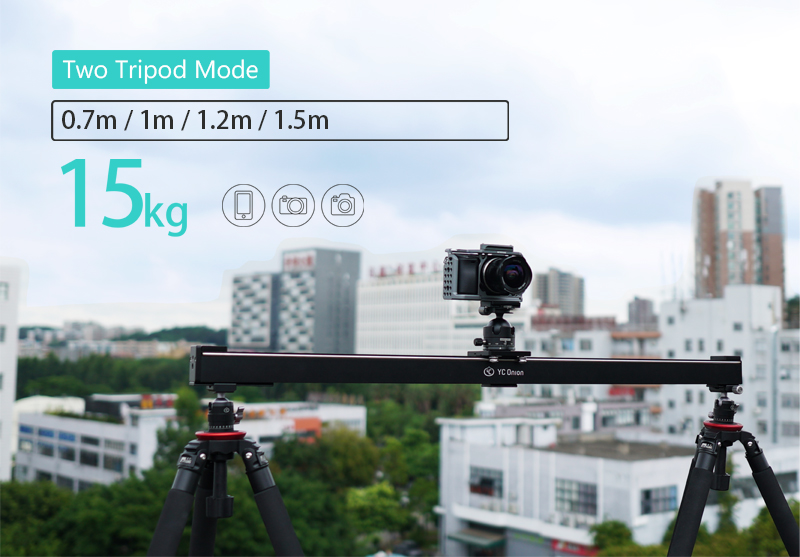 YC ONION Aluminum Motorized Camer Slider App Bluetooth Control Stable Smooth Slider Camera With Motor For Photography DSLR Video (17)