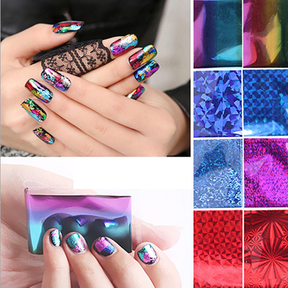 20Pcs Finger DIY Nail Art Sticker Decal Foils Water Transfer Stickers Tips Decor (1)