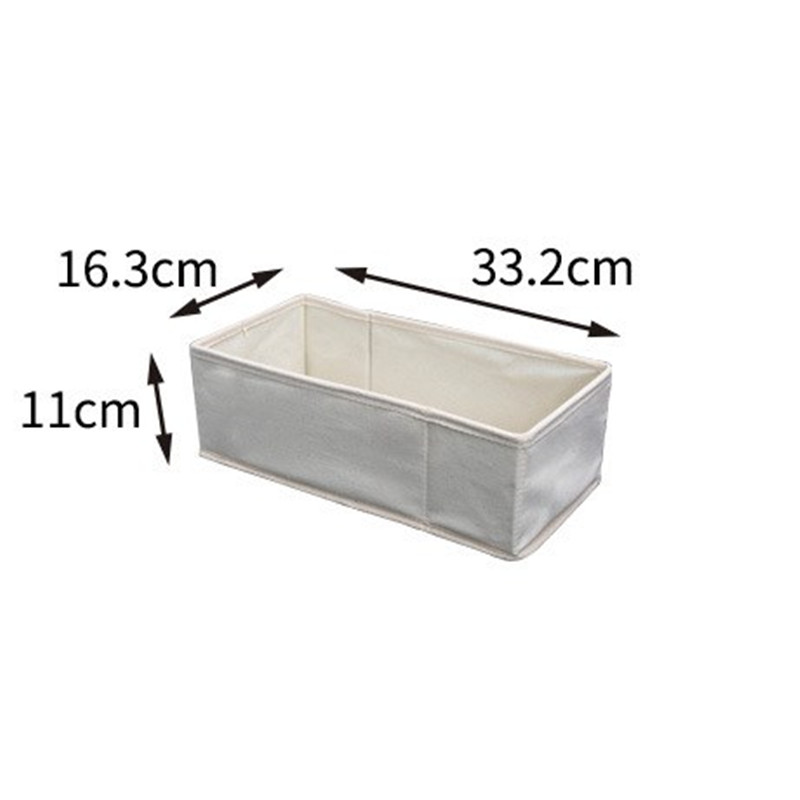 wholesale Multi-size Drawer Closet Organizers For Underwear Storage Box Scarf Socks Bra Makeup Organizer Wardrobe Home Storage