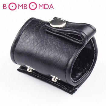 Adjustable Penis Rings Leather Scrotum Bondage Belt Ring Male Chastity Device Cock and Ball Bondage BDSM Adult Sex Toy for MenO4
