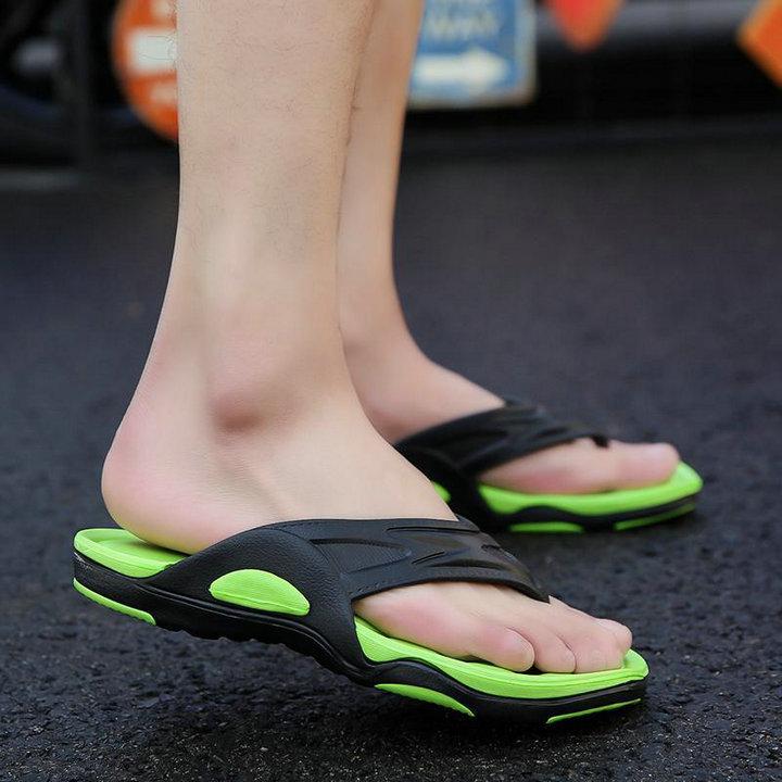 High Quality Quick Drying Soft Summer Sandals Beach Flip Flop Bath Skidproof Slider Casual Flat Eva Slipper (4)