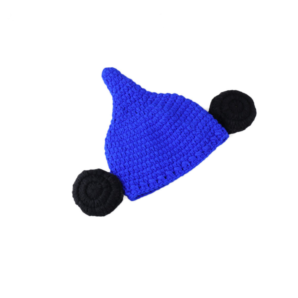 Kids Winter Hats Baby Newborn clown Knit Crochet Clothes shawl Hat Outfit Photo Props