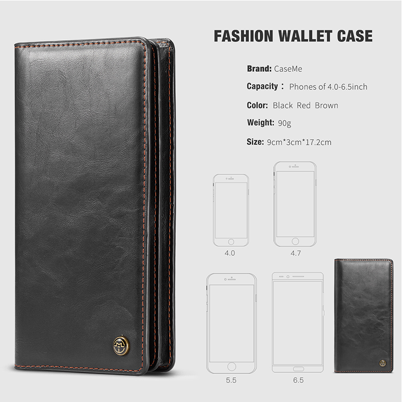 For iPhone 5 5s SE Phone Cases Luxury Leather Stand Flip Card Pocket Cover Back Case For iPhone 6 7 8 Plus X Universal Wallet Phone bag (14)