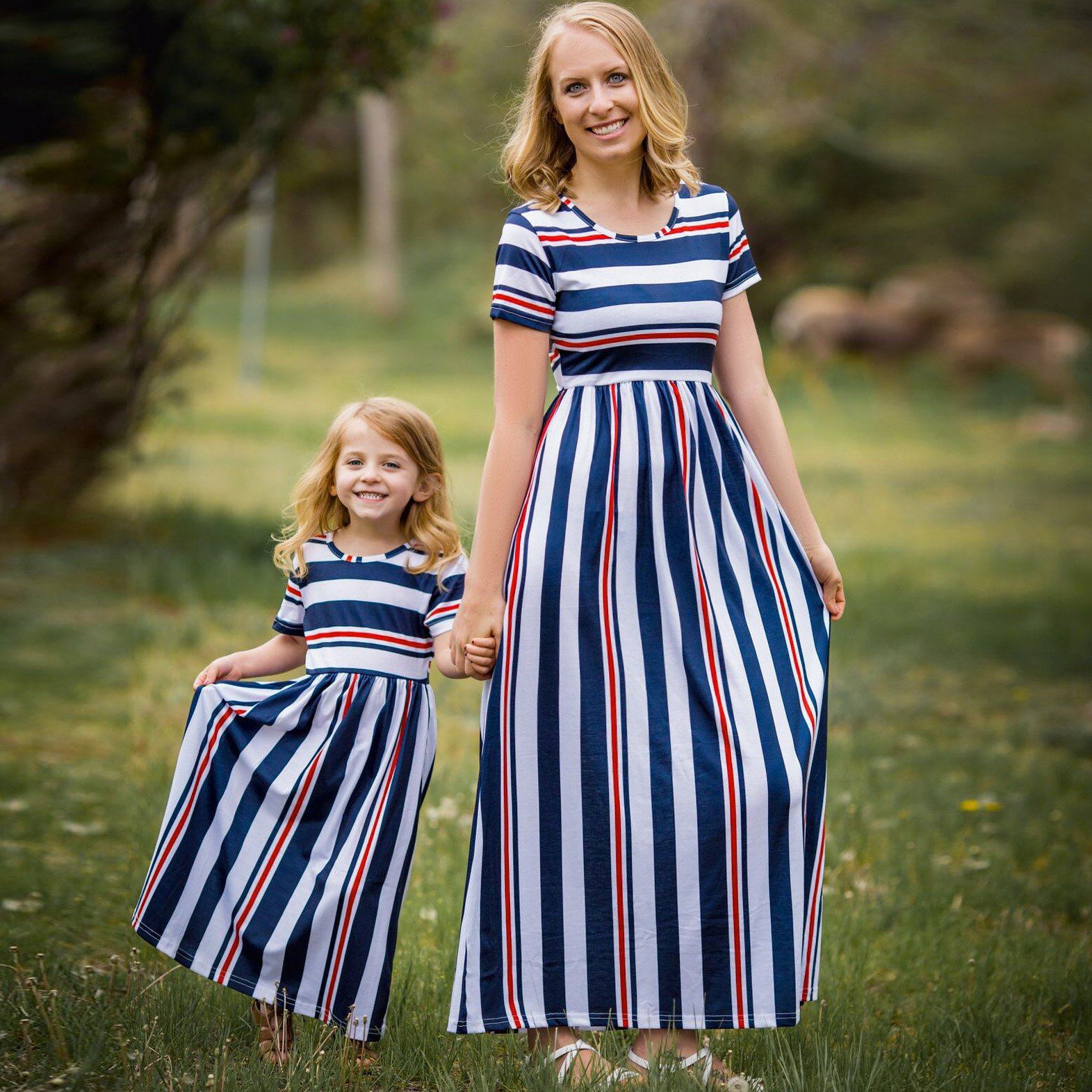 Mother Daughter Matching Kitty Cat One Piece Swimwear Mommy Me Family Clothes