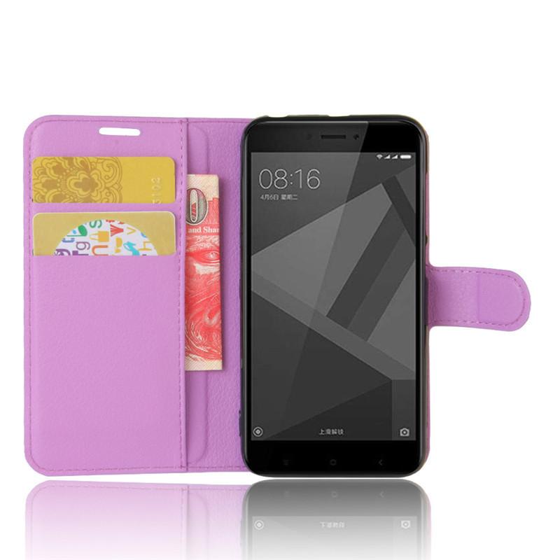 For Xiomi Xiaomi Redmi 4X Case 5.0 inch Wallet PU Leather Cover Phone Case For Xiaomi Redmi 4X 4 X Case Silicone Flip Back Bag (46)