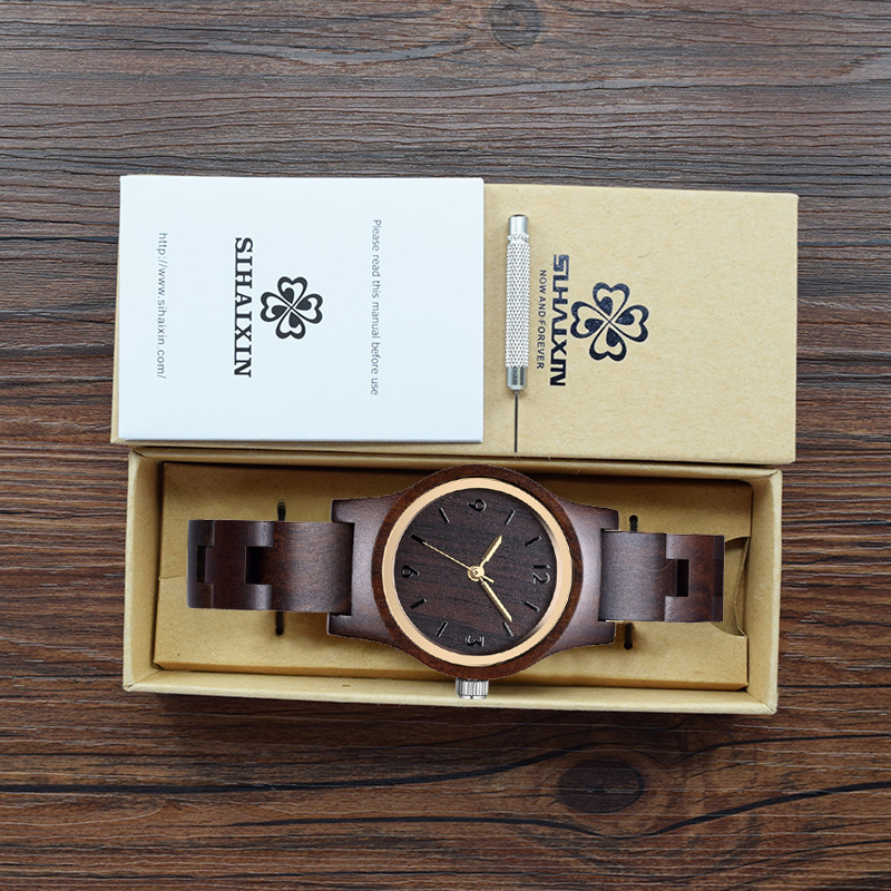 wood watch with box 1