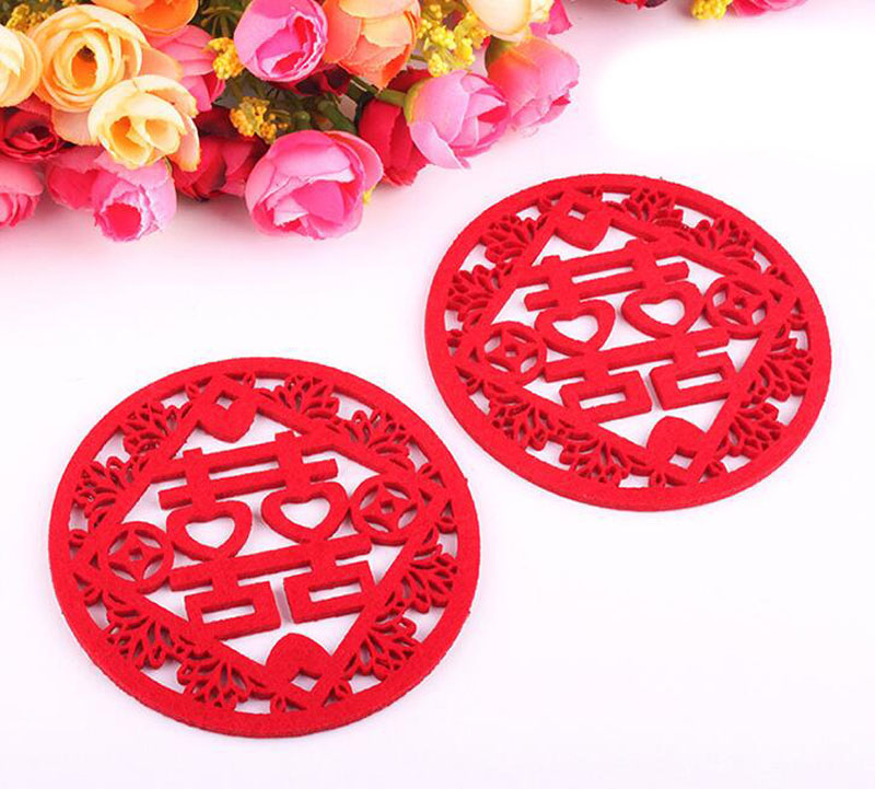 500pcs-Traditional-Chinese-Style-Double-Happiness-Coasters-Non-woven-Fabric-Wedding-Table-Decoratioon-Party-Favor-Gift (4)
