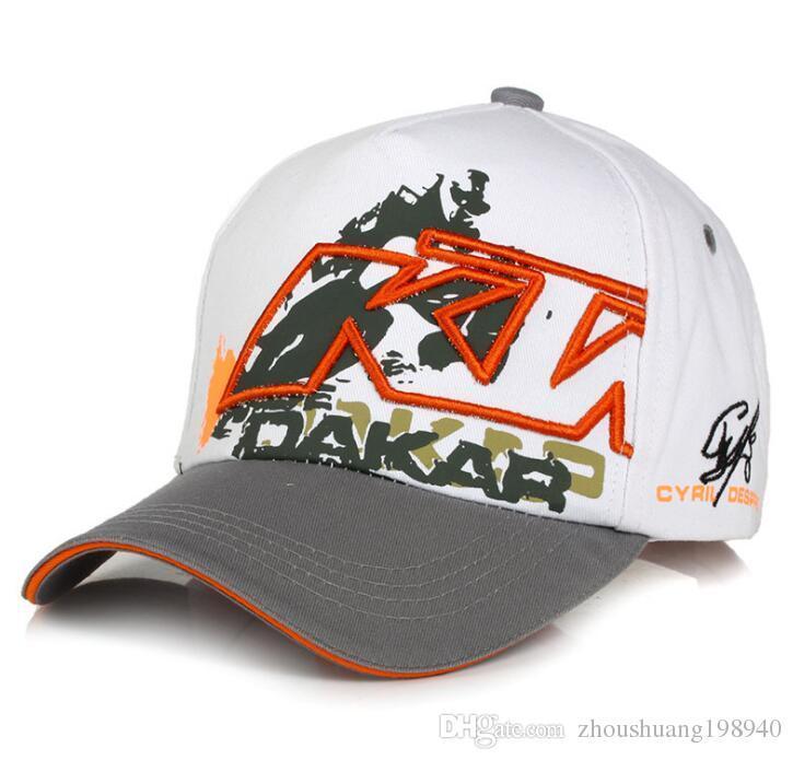 2017 Moto GP Letters KTM Racing Baseball Caps Motocross Riding Sports Hats For Mens Snapback Caps Hip Hop Sun Hats