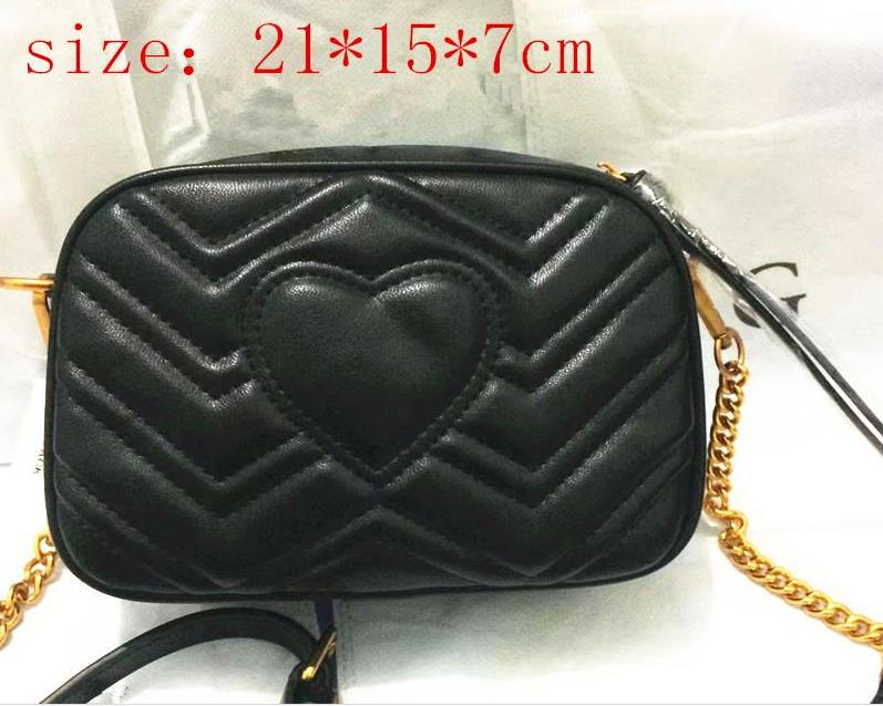 Single shoulder bag classic new style shoulder bag European and American fashion chain bag High quality free shipping