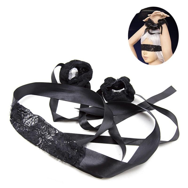 Adult Games BDSM Bondage Blindfold Blinder Eye Mask Role Play Erotic Slave Sex Toys for Couples Fetish Restraint for Woman_