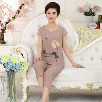 new-fashion-Casual-middle-age-women-mother-loose-shirt-Calf-Length-Pants-set-Suit-female-lady.jpg_200x200