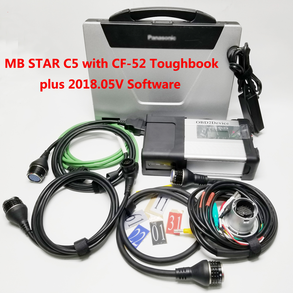 MB STAR C5 WITH SOFTWARE 2018