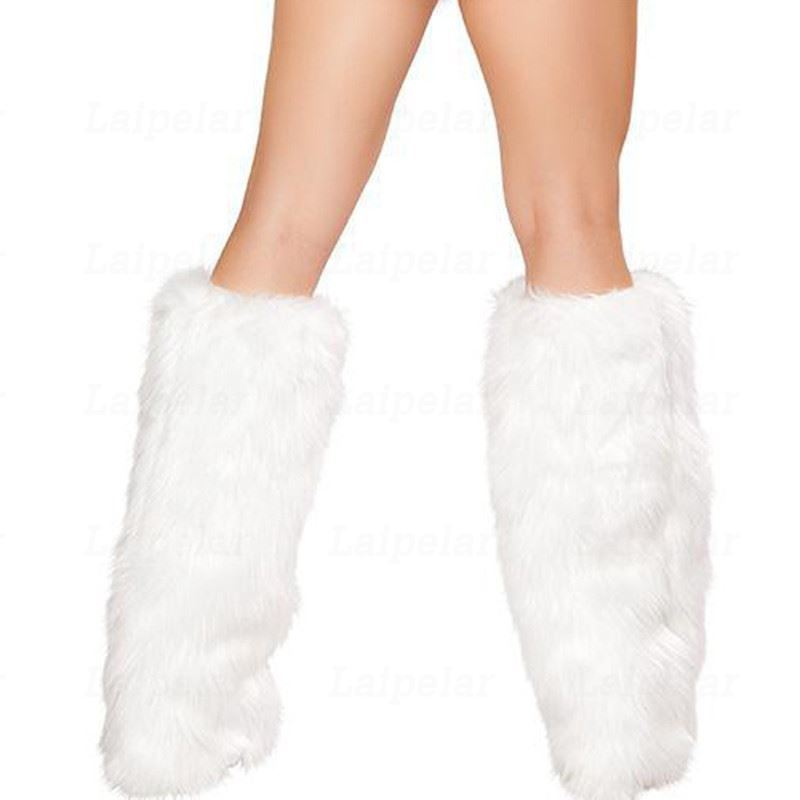 Laipelar 2018 Sexy Womens Mrs Santa Claus Christmas Costume Mini Dress White Fur Red Dress Women Sexy Nightclub Cosplay Clothes C18111601
