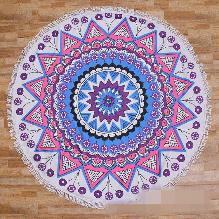 Round beach towel (9)
