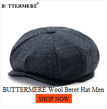 BUTTERMERE David Beckham Hat Newsboy Cap Men Gatsby Hat Women Cotton Octagonal