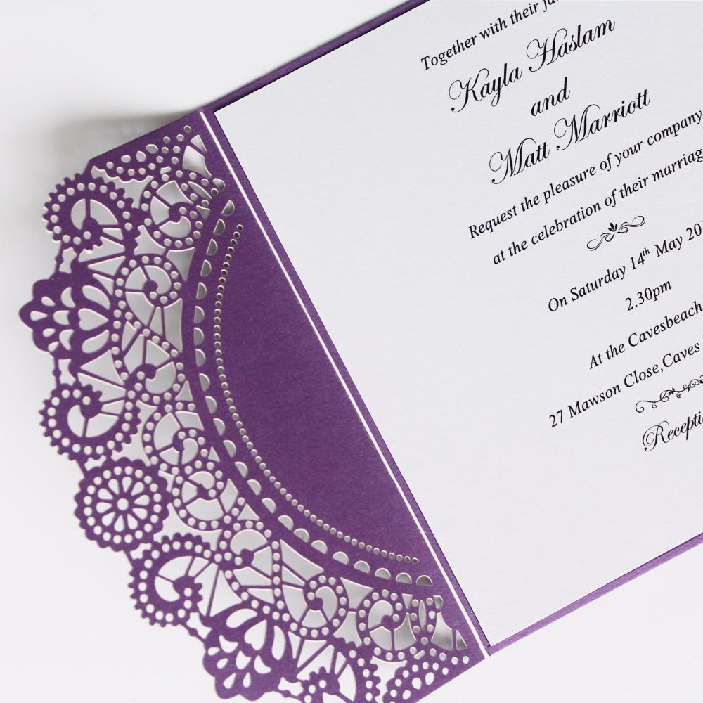 Shiny Wedding Invite