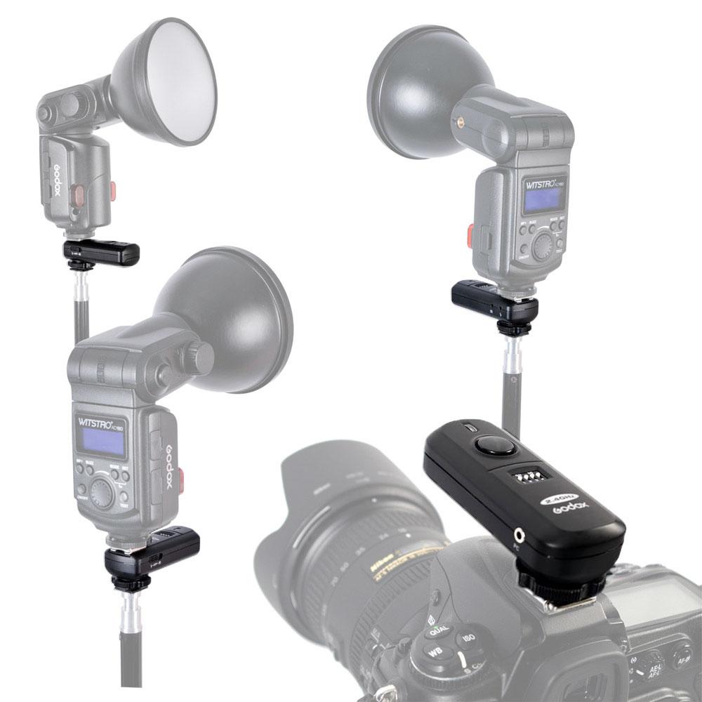 Godox 2.4G Wireless Flash Trigger FC-16 Transmitter+Receiver Kit (1)