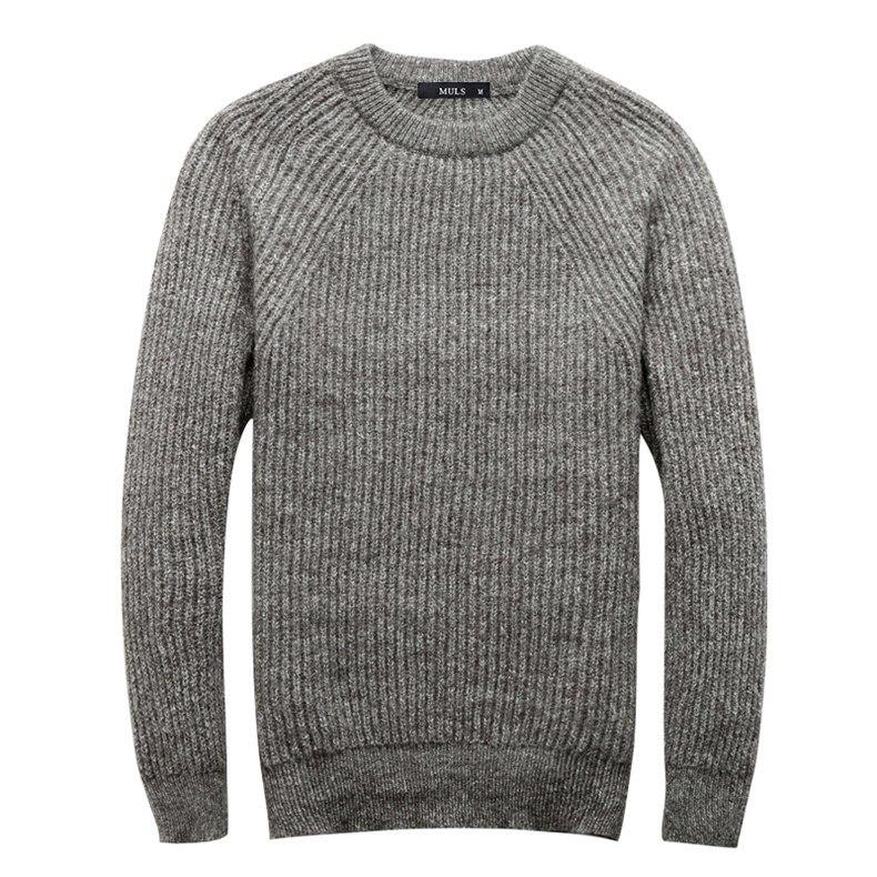 4Colors Heavy-Knit Sweater Men Pullovers Thick Winter Warm Sweater Jumpers Women Autumn Male Female Dress knitwear Plus size 4XL-04