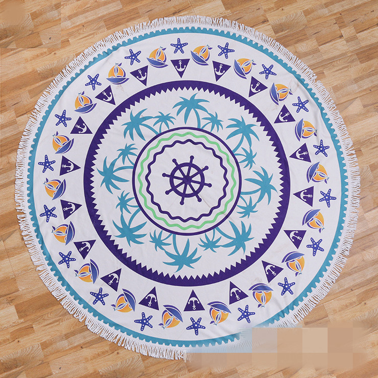 Round beach towel (20)