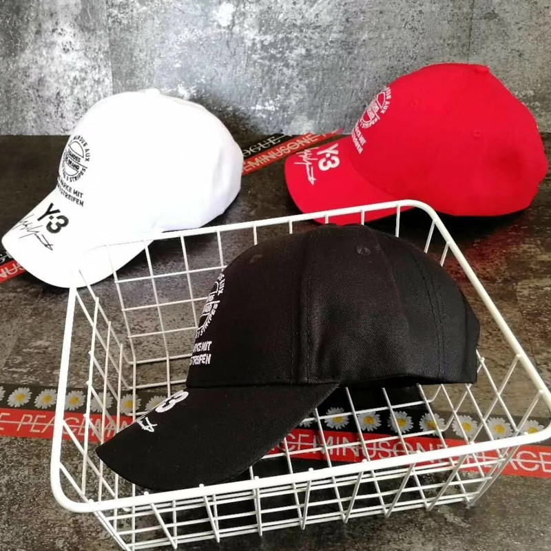 18SS Fashion Y-3 Letter Logo Embroidery Hat Cap Luxury Street Travel Sunhat Fishing Casual Sun Hat Summe Outdoor Sports Hats HFYMMZ007