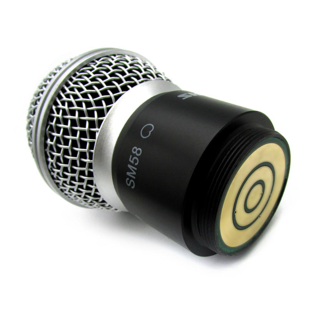 2 Stück Ersatzpatrone Capsule Assy Kopf für sm 58 sm 58lc slx24 Wireless-Mikrofon-System