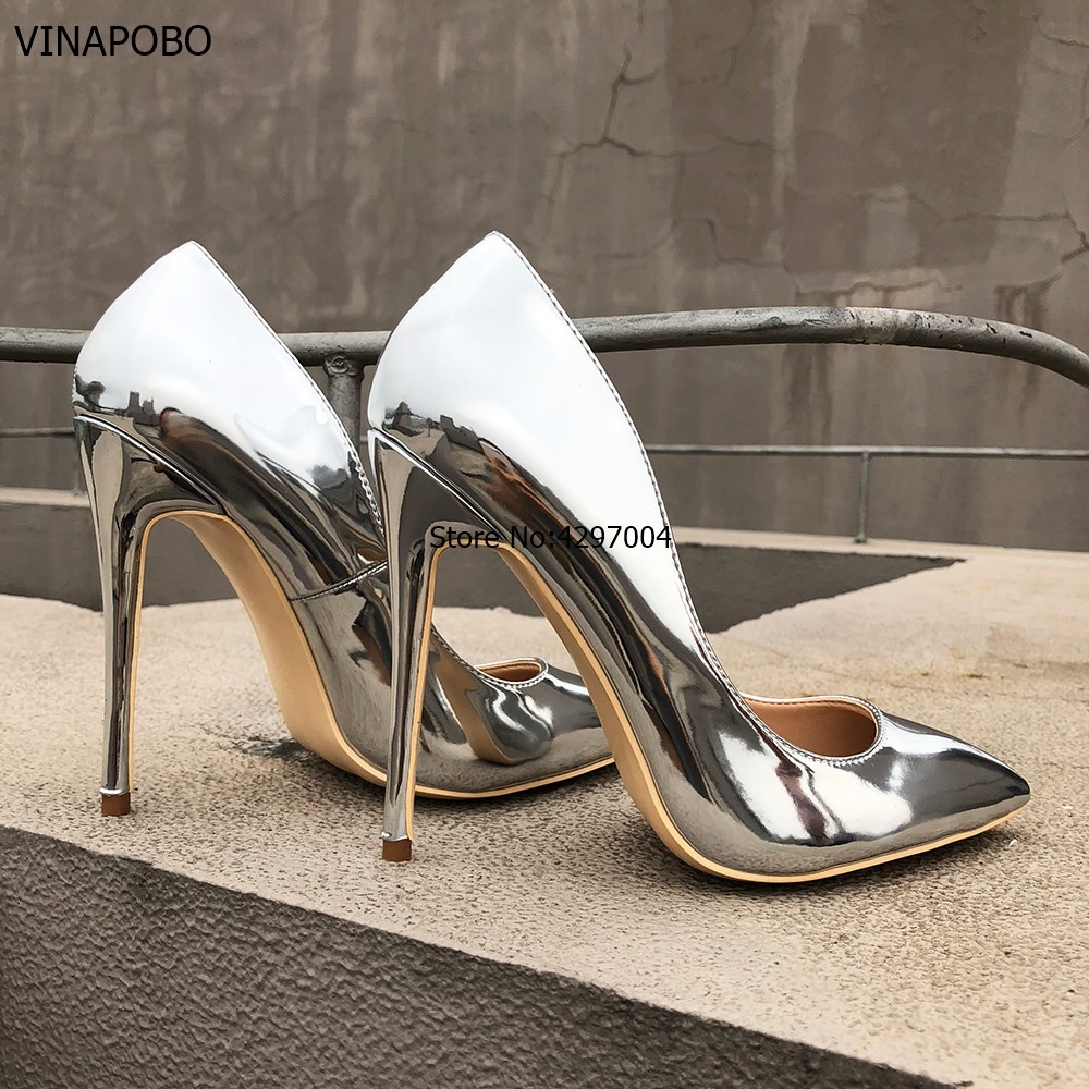 Veowalk-Glossy-Silver-Patent-Leather-Women-Sexy-Pointed-Toe-High-Heel-Shoes-Ladies-Fashion-Party-Stiletto (1)