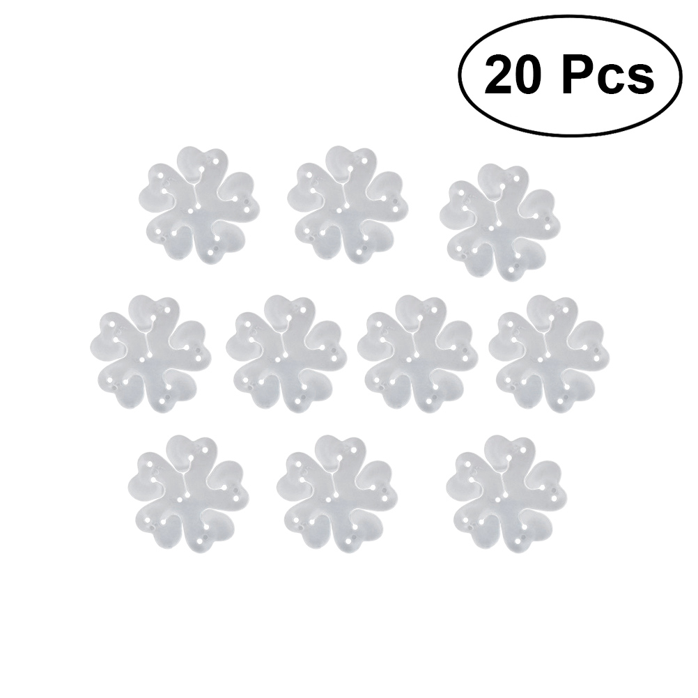 11-in-1 Flower Shape Balloon Clips Holder for Party Holiday Wedding Birthday Decoration