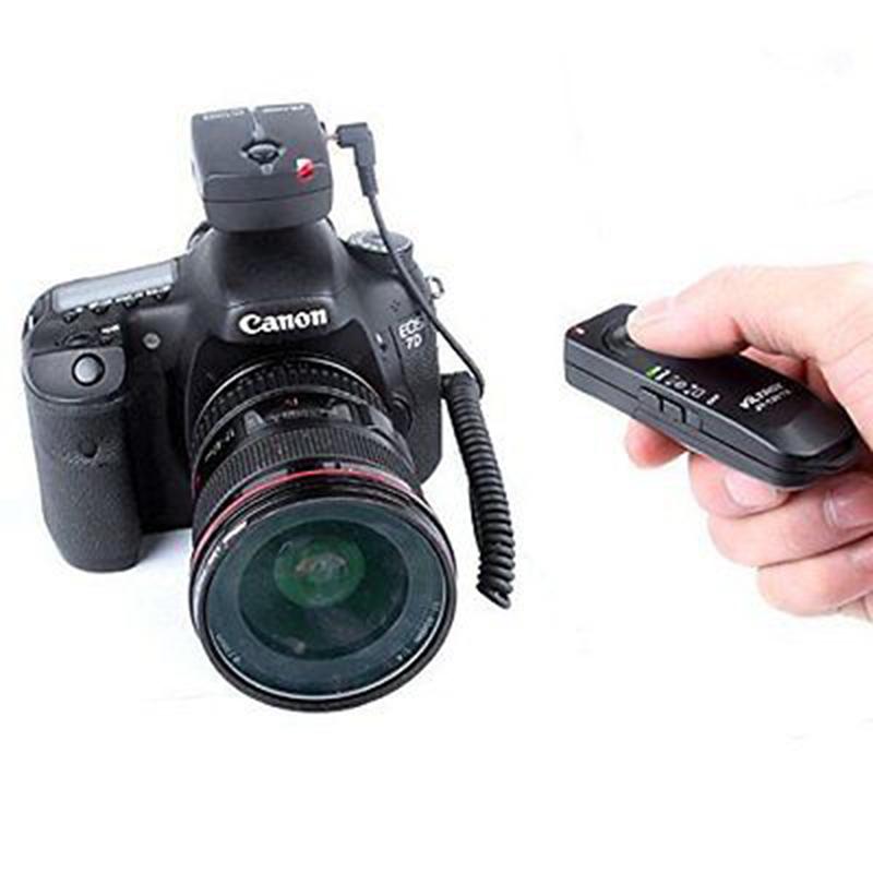 ikacha RS-60E3 Remote Control Switch Release Replacement for Canon EOS 650D 600D 550D 500D 1000D 450D 400D 350D 300D 100D 700D