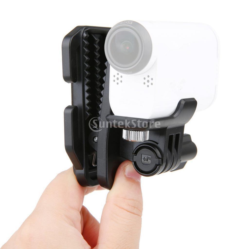 Clip de hebilla de liberación rápida 2x Básico Correa Monte para GoPro 4 3 Cámara Hero 1 E4A2