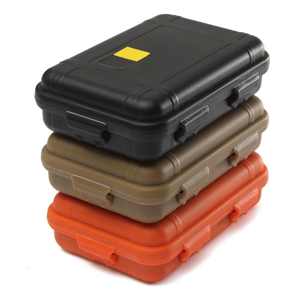 Kunststoff im Freienüberlebens-Behälter-Speicher-Fall Wasserdicht 1x Stoß