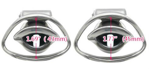 Patent Stainless Steel Male Chastity Cage Device Short Cock Cages Penis Lock Bondage Restraints Sex Toys for Men XCXA337