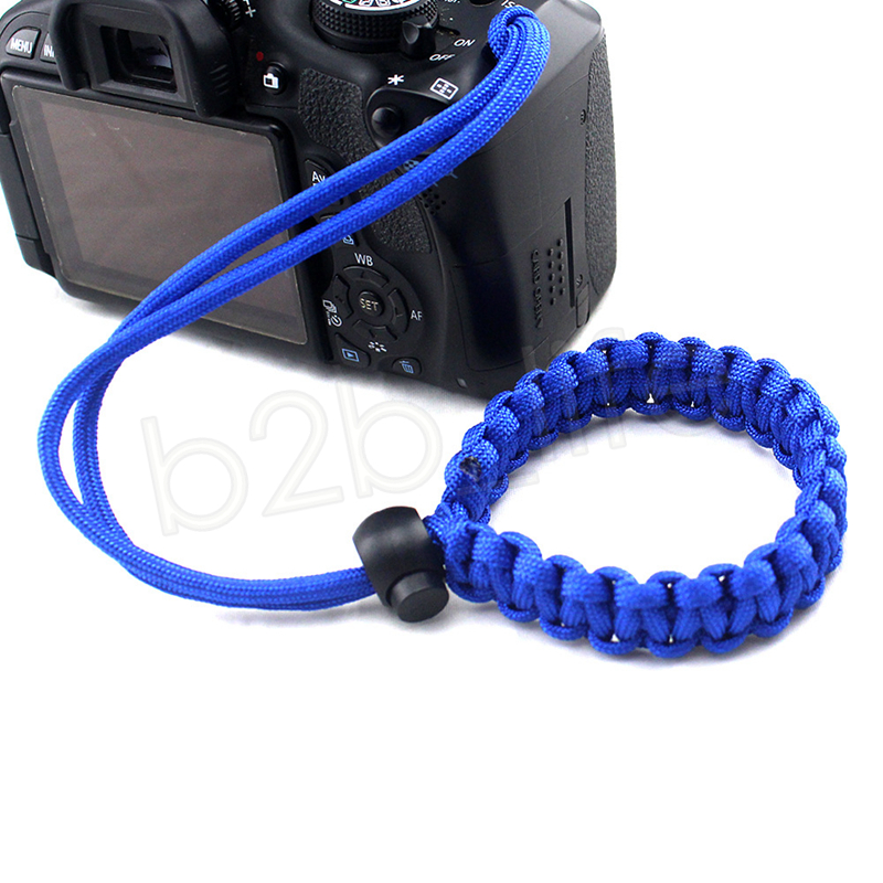Camera Woven Seil Griff Schnelle Handschlaufe Kamera Rutschfeste Gürtel Handgelenk Handschlaufe Kamera Armband Seil Sport Party Favor GGA959