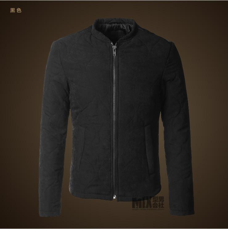 2018 Men new winter casual cotton slim brand design coat men European style warm thick zipper stand collar jacket outwear coat C18111201