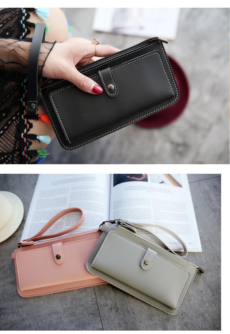 wallet women zipper
