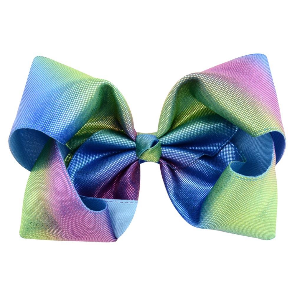 Girls jojo Bow laser bubble flower hairpins Barrettes children Bow princess Bow Bling Hair Clip hair accessories GGA1119