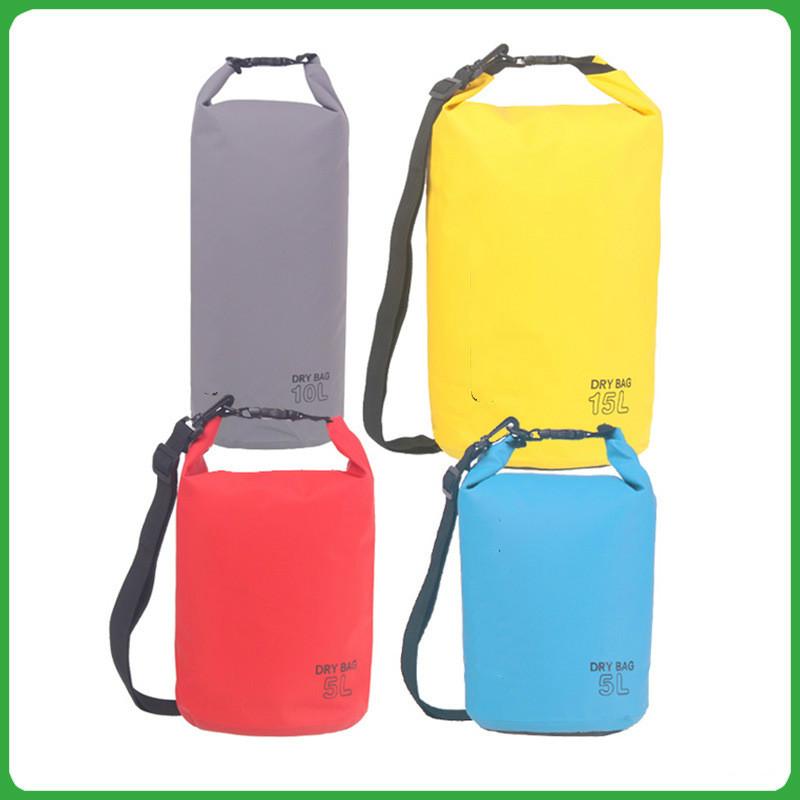 Outdoor Waterproof Camping Rafting Storage Dry Bag with Ajustable Strap Hook aK