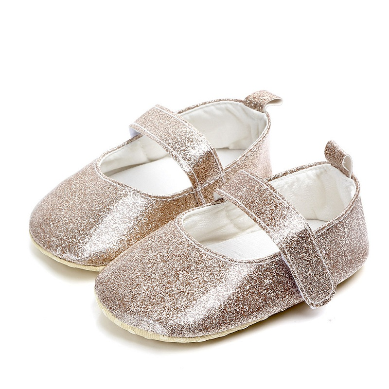 Spring / Autumn Newborn Baby Shoes Newborn Girls Booties for Leather Soft Sole Crib Toddler Newborn Shoes