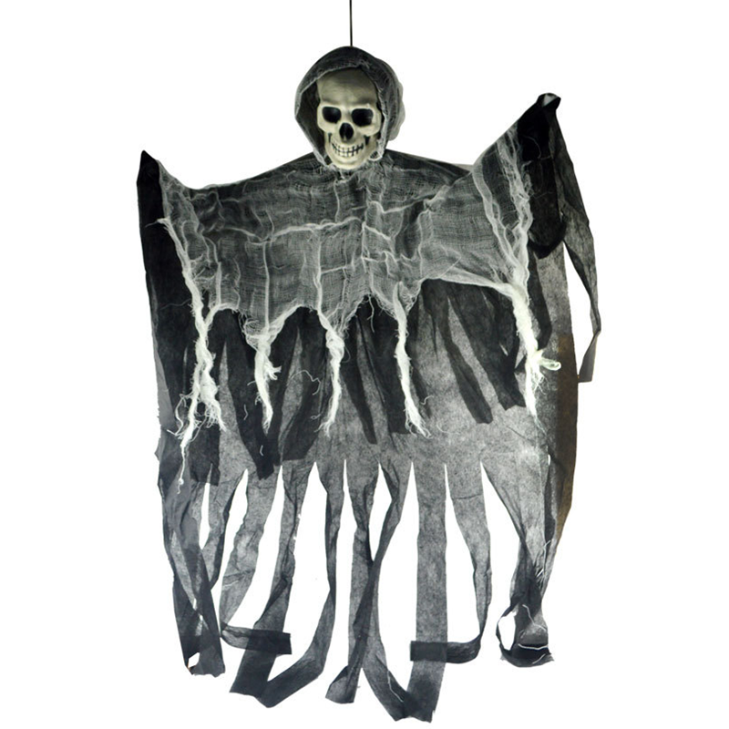 Halloween Horror Hanging Skull Halloween Decoration Skeleton Bar Club Props Halloween Party Decoration Haloween Decoracion,Q