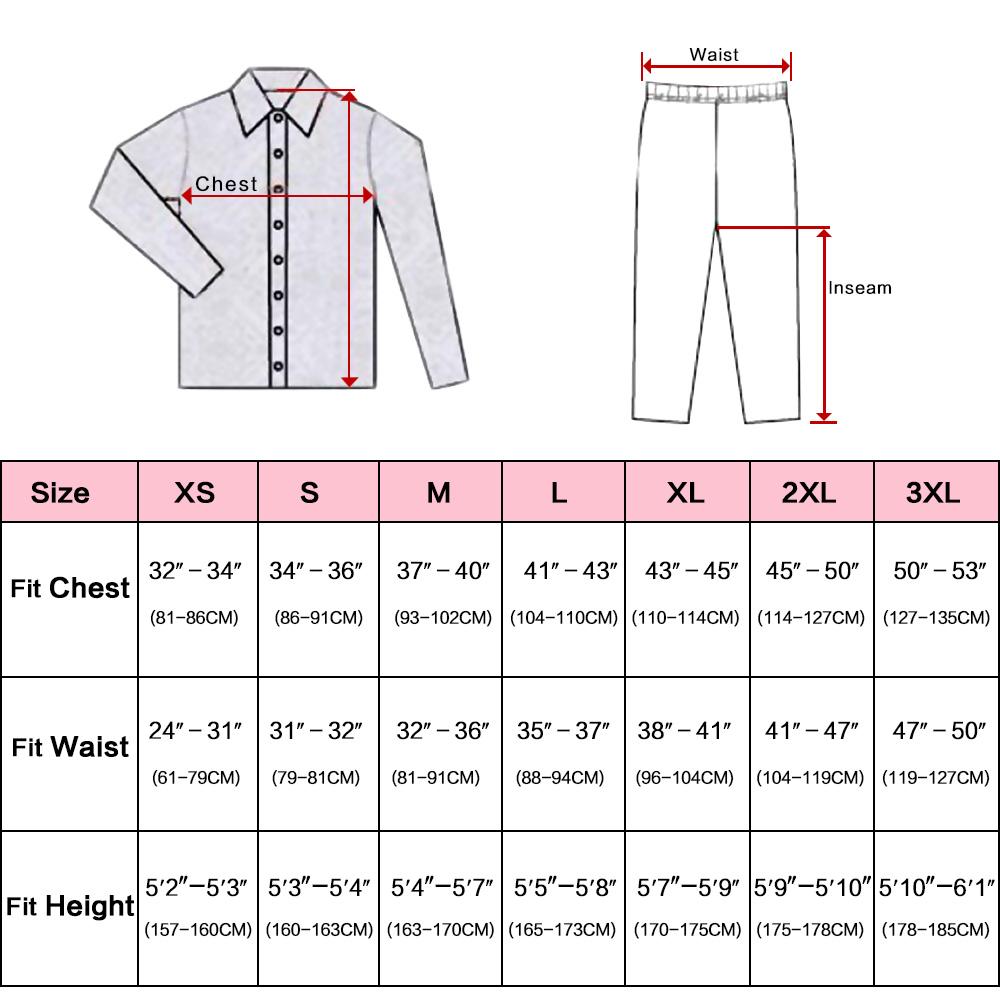 Womens Silk Satin Pajamas Set Pajama Pyjamas Set PJS Sleepwear Loungewear S,M,L,XL,2XL,3XL Plus Size