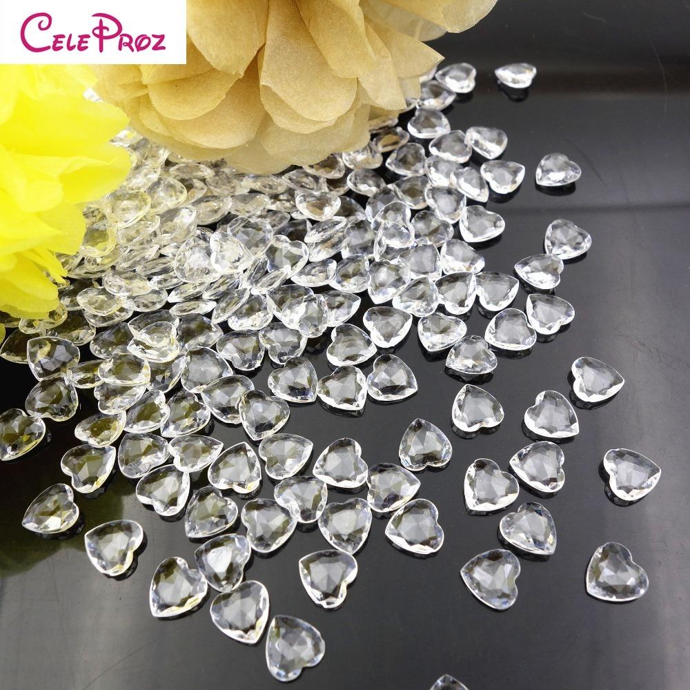 Pack Acryl Diamant Kristalle Hochzeit Dekorationen DIY Kunsthandwerk 5000