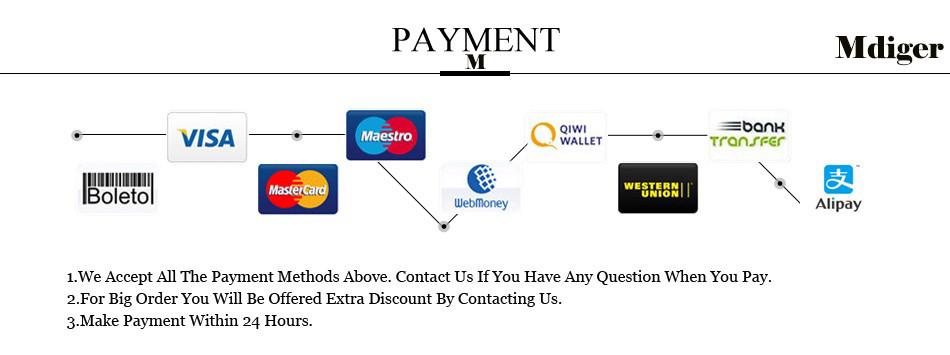 M PAYMENT Methods