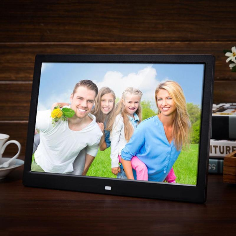 10 Inch Digital Photo Frame Electronic Remote Control Picture Video Player 1024x600 Movie Album Calendar Clock Display