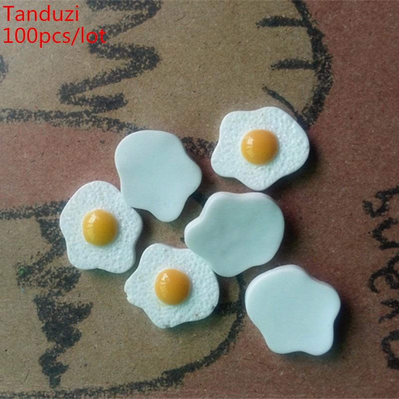 20Pcs Miniature Eggs Kitchen Food Supply Accessories For 1:12 Dollhouse Decor