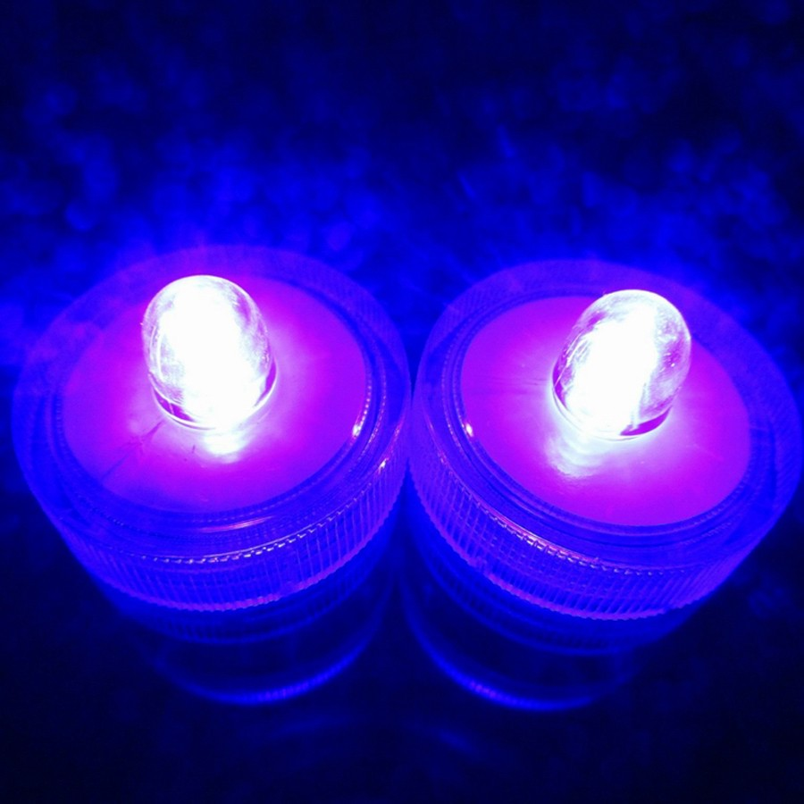 Waterproof Submersible LED Tea Light Electronic Candle Light (13)