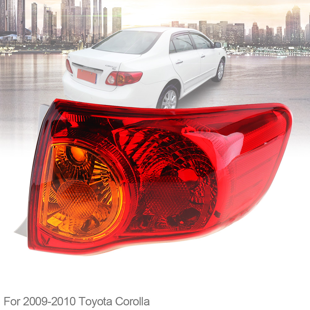 Taillights Lamp Inner Outer Left /& Right Set of 4 for 11-13 Toyota Corolla Japan