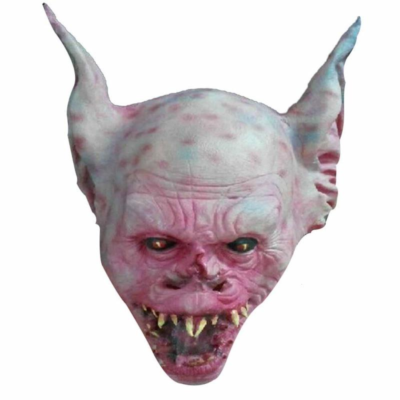 Halloween Scary Mask Cosplay Devils Party Prop Horror Costume Latex Mask Full Face Halloween Festival Supplies S3
