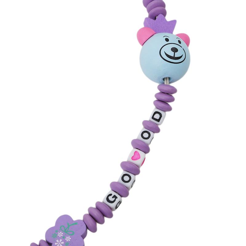Baby Schnullerkette Schnullerkette Clip Halter Baby Fütterung Produkt ZP