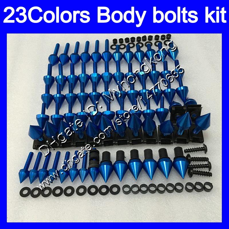 Complete Fairing Bolt Kit Body Screws For Suzuki Hayabusa GSX-R1300 2008-2015