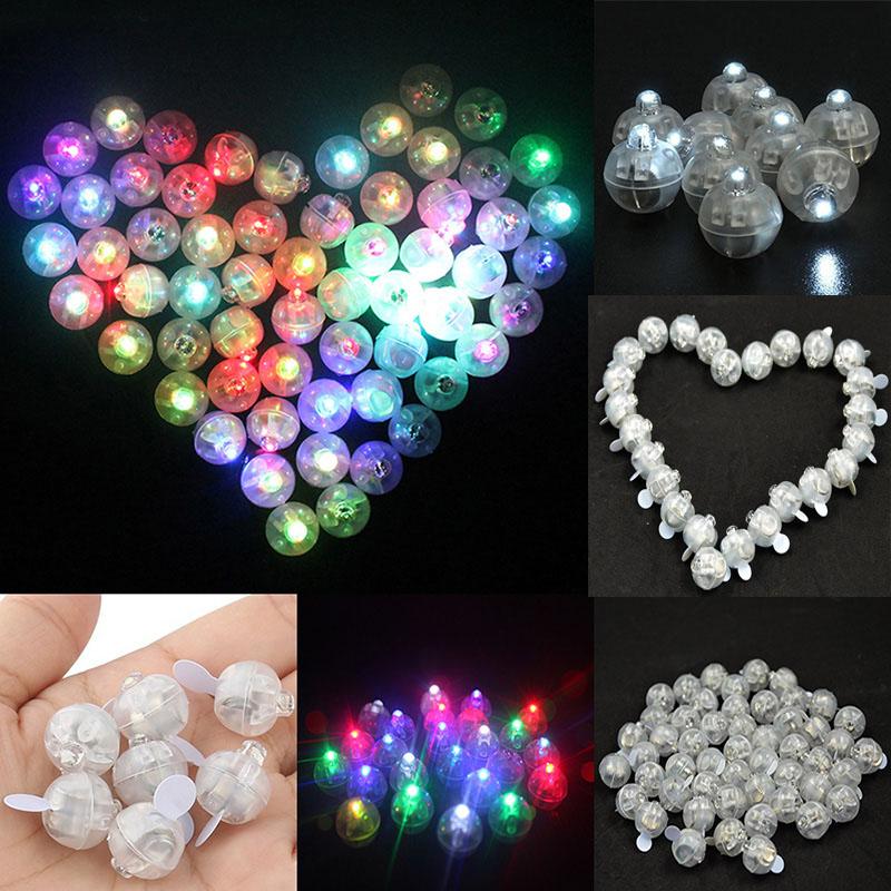 Étanche 10pcs DEL Lumière Ballon Lampe papier lanterne fête de mariage floral decor