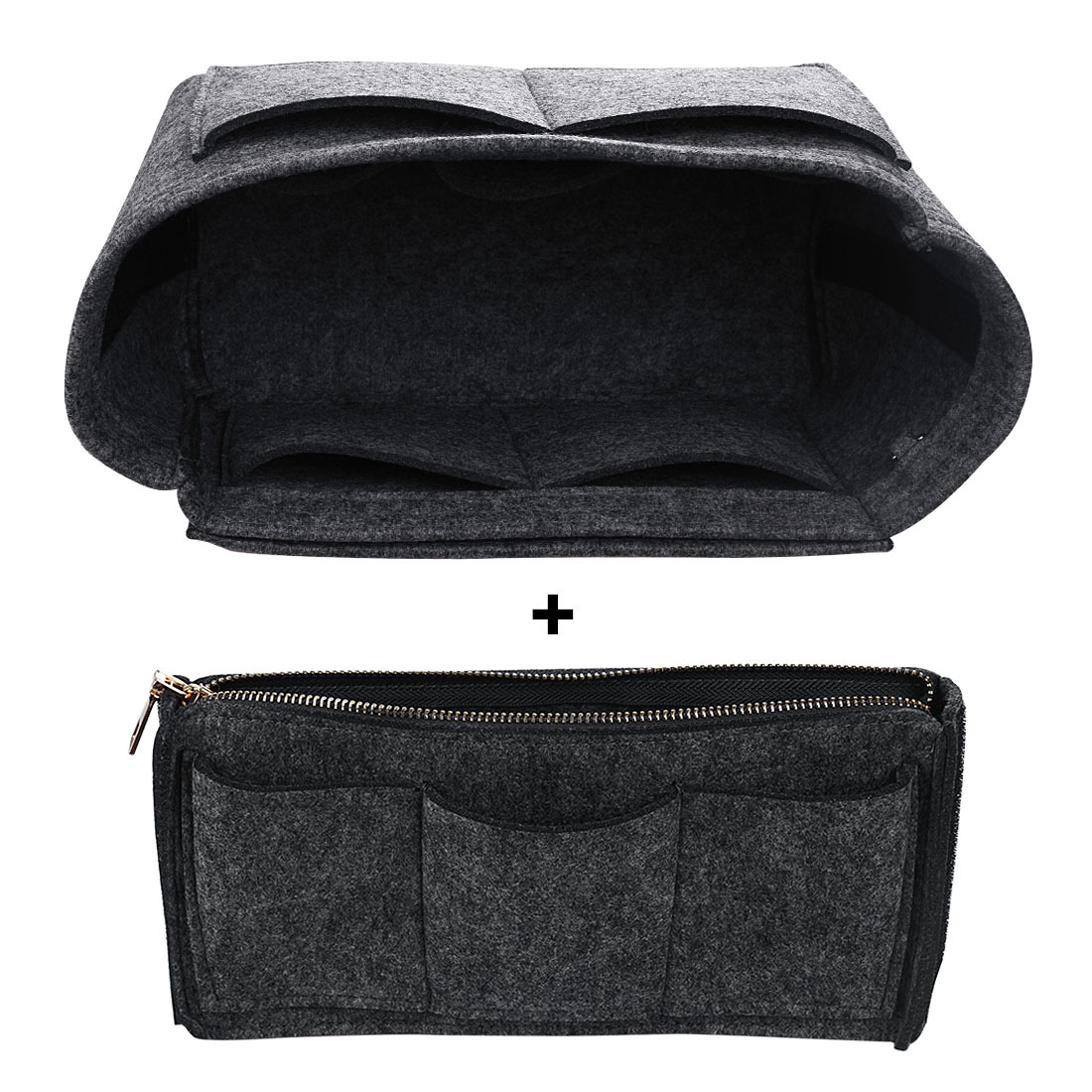 Girls Toiletry Handbags Ladies Travel Organizer Women Felt Cloth Insert Bags Female Make Up Cases Multifunctional Cosmetic Bags C18111401